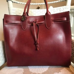 Dooney and Bourke Alto Large Tassel Bag